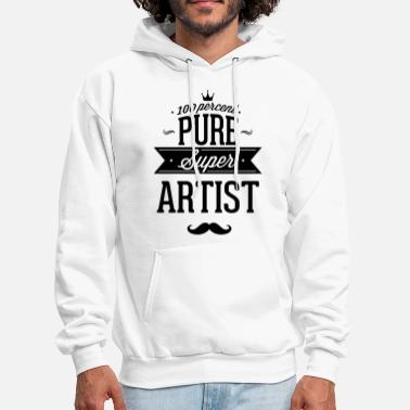 Winner 100 percent of pure Super artist - Men's Hoodie