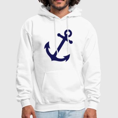 Nautical anchor - Men's Hoodie