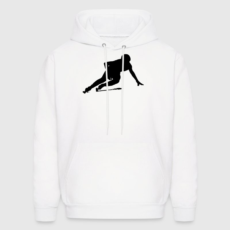 Short track speed skating - Men's Hoodie