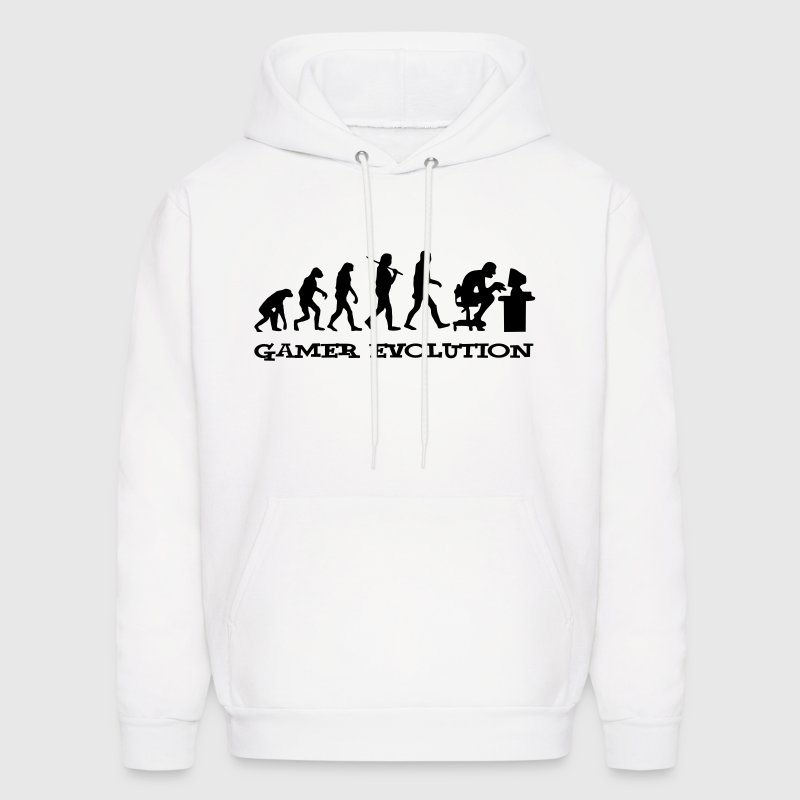 Gamer Evolution - Men's Hoodie