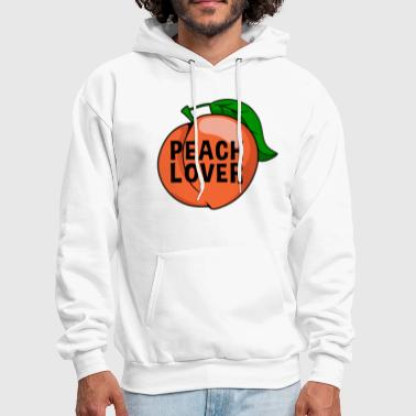peach fruit healthy snack gift idea - Men's Hoodie