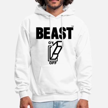 Beast BEAST ON - Men's Hoodie