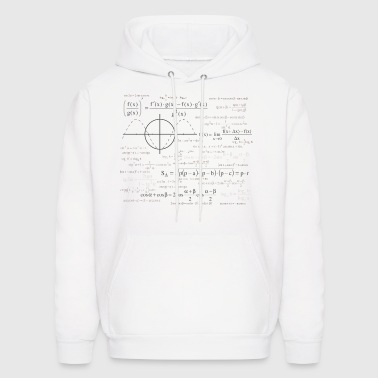 mathematical function - Men's Hoodie
