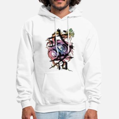 Japanese Dragon Warrior - Men's Hoodie