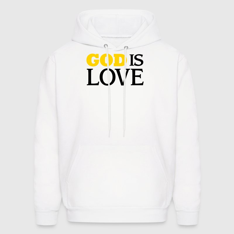 God is Love - Men's Hoodie