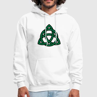 Irish Trinity Knot Triquetra Celtic Patricks Day - Men's Hoodie