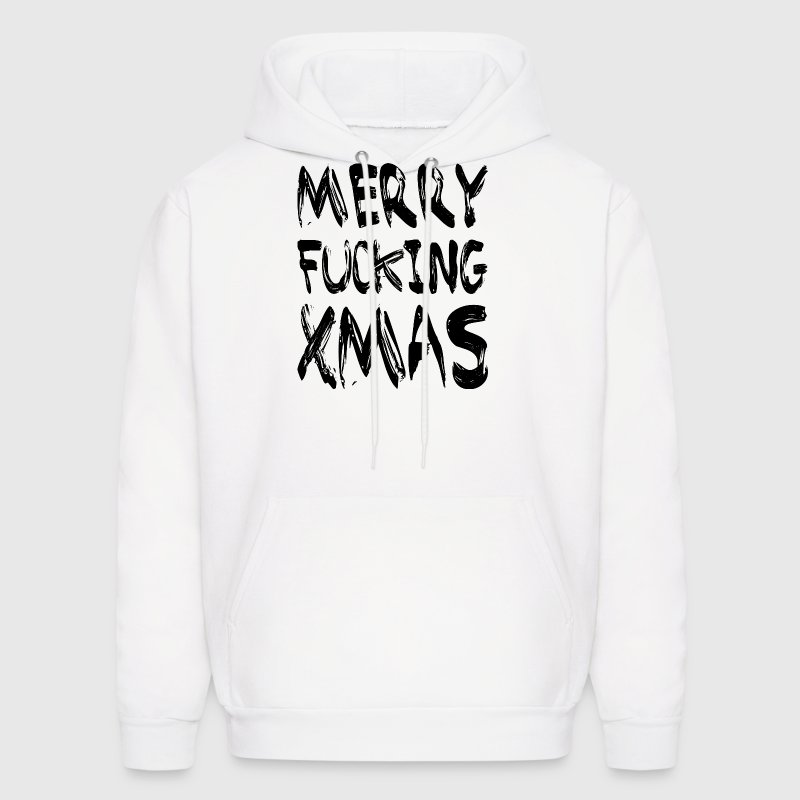 MERRY FUCKING XMAS - Men's Hoodie