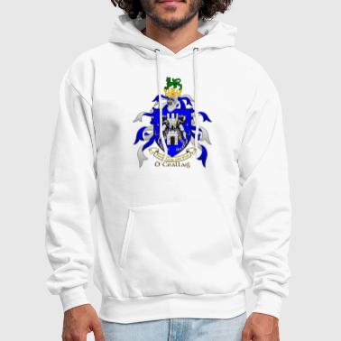 Kelly Family Crest Shield - Men's Hoodie