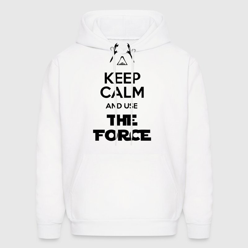 Keep Calm And Use The Force - Men's Hoodie