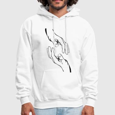 Second Hand Hands - Men's Hoodie