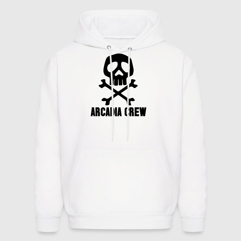 Harlock Space Pirate Skull - Men's Hoodie