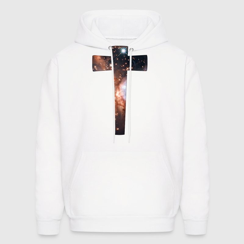 Cosmic Cross - Men's Hoodie