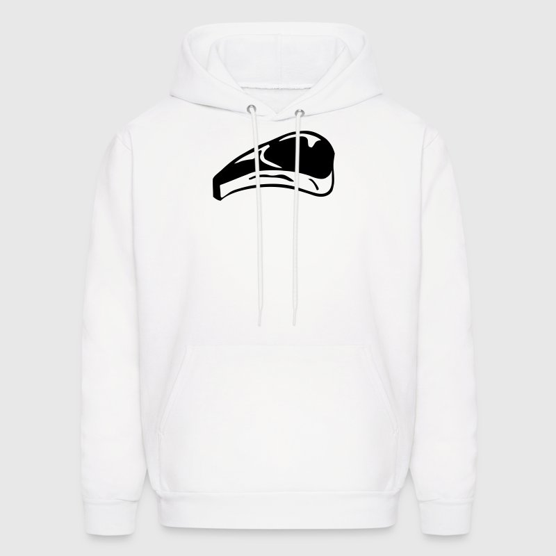 Steak, Meat - Men's Hoodie