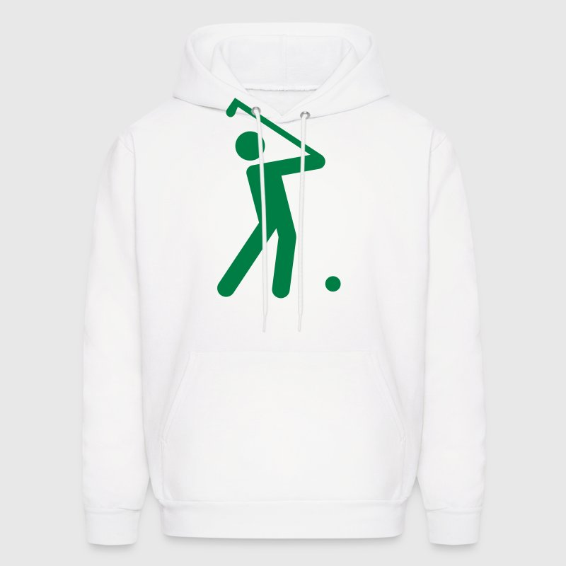 Golf Stickman  - Men's Hoodie
