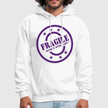 FRAGILE HANDLE WITH CARE - Men's Hoodie