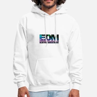 Electronic Music EDM Electronic Dance Music - Men's Hoodie