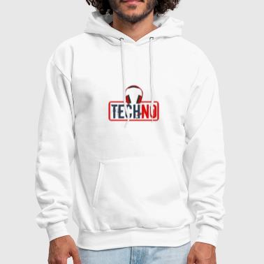 Techno Bass Techno - Men's Hoodie