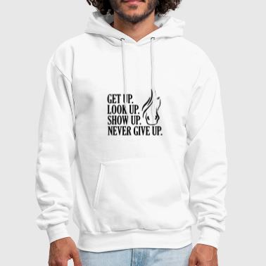 Racehorse Horse Never Give Up - Men's Hoodie