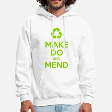 Second Hand Make Do and Mend - Men's Hoodie