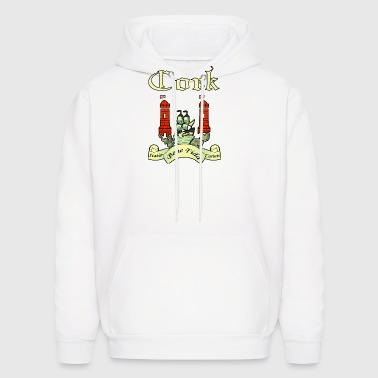 Cork County Ireland Irish Seal Shield - Men's Hoodie