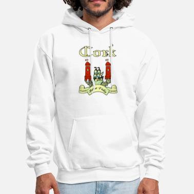 0eaf132bb3 County Cork County Ireland Irish Seal Shield - Men  39 s Hoodie. Men s  Hoodie
