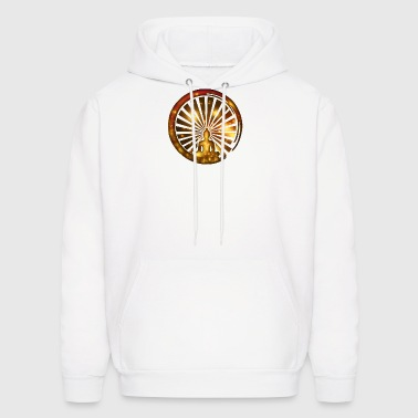 Enso, Zen, meditation, Buddha, Buddhism, Japan - Men's Hoodie