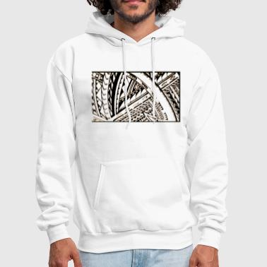 Tattoo Fili Samoan Tribal art by Sku - Men's Hoodie