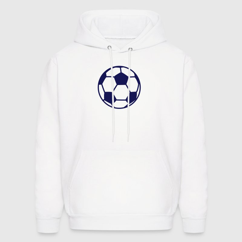 custom soccer ball team - Men's Hoodie