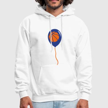 basketball sports ball balloon - Men's Hoodie