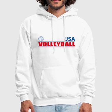 Volleyball USA - Men's Hoodie