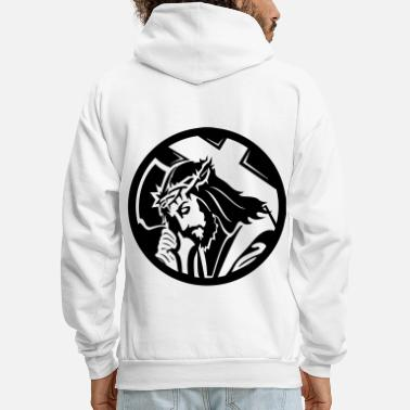 Christ Jesus HD VECTOR - Men's Hoodie