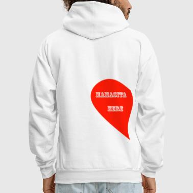 LOVE IS IN THE AIR - 1 LEFT SIDE - Men's Hoodie
