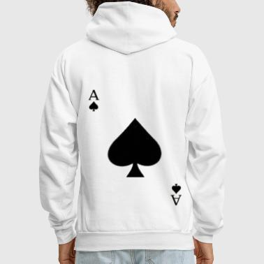 Play Poker Ace of spades - Men's Hoodie