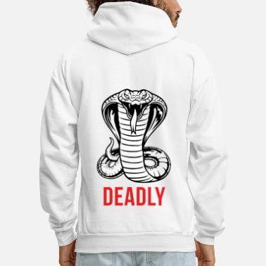 Cobra Cobra - Deadly - Men's Hoodie