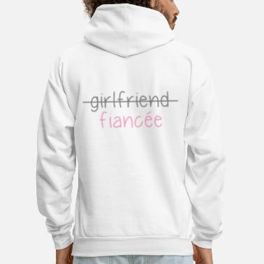 Married not more girlfriend just fiancŽe - Men's Hoodie
