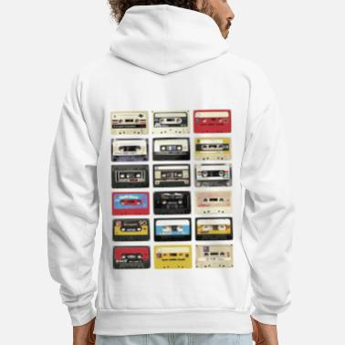 Cassette Audio Cassette Retro - Men's Hoodie