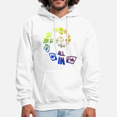 Holdem Poker ALL IN Karten Pik Texas Holdem - Men's Hoodie