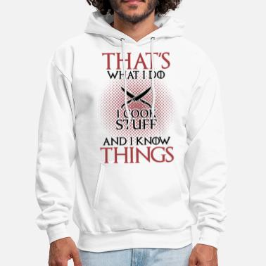 Curry that is what i do i cook stuff and i know thing kn - Men's Hoodie