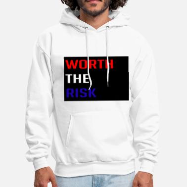 Risk Worth The Risk - Men's Hoodie