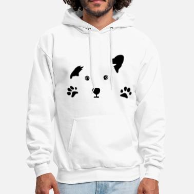 Puppy dog, puppy - Men's Hoodie