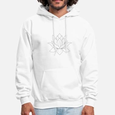 Flower, Flowerdesign - Men's Hoodie