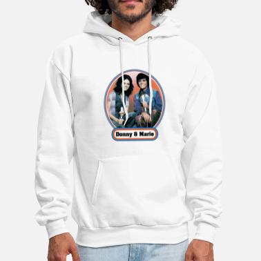 donny and marie men woman film music - Men's Hoodie
