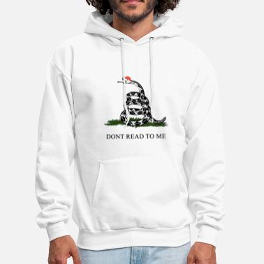 don t read to me animals snack hunt - Men's Hoodie
