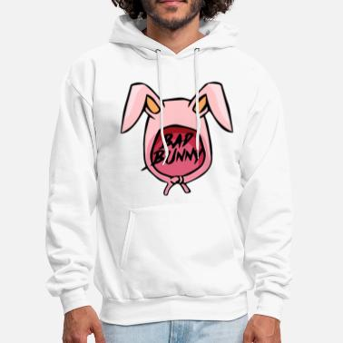 Bunny Bad Bunny Maluma Ozuna Hip Hop Rapper Rap Swag Men - Men's Hoodie