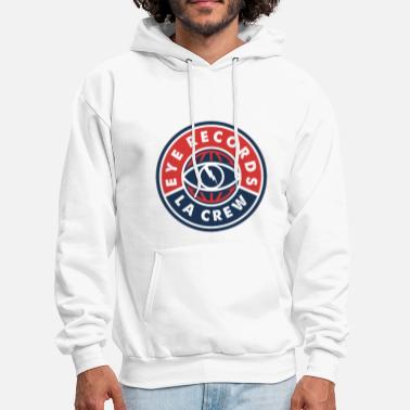Record Champion Eye Records - Men's Hoodie
