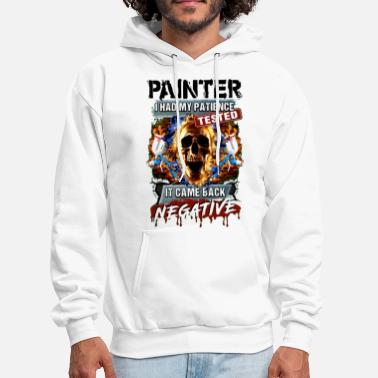 Polynesian painter i had my patience tested it came back nega - Men's Hoodie