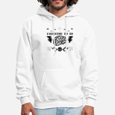 2d Thinking in 2D - Men's Hoodie