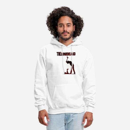 Gift Idea Hoodies & Sweatshirts - The undead bloody - Men's Hoodie white