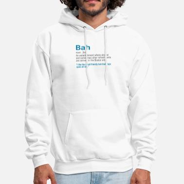 Boston Accent Clothing Funy Bah Definiton or Bar Boston Accent design - Men's Hoodie