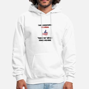 Conservative Conservative U.S. citizen. - Men's Hoodie